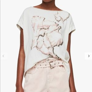 All Saints Linel Pina T-Shirt, Ivory